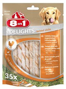 8 in 1 Delights Twisted Bâtonnets 35 Pièces – Pack de 4