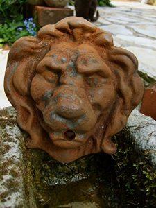 antikas–Gargouille Lion–Bec pour fontaine fontaine murale Bec, Gargouille Eau Bec