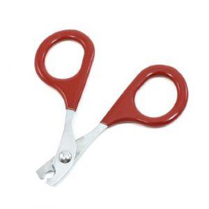 Arbre Creative Portable en acier inoxydable Pince à ongles Ciseaux Outil de beauté pour animal domestique (Rouge)