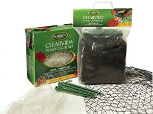 Blagdon Clearview Filet de protection fin 6 x 3 m (Noir)