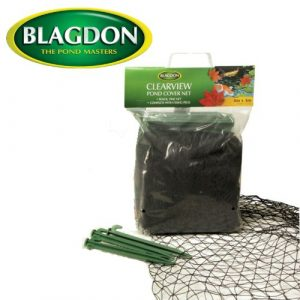 Blagdon Clearview Filet de protection fin 6 x 4 m (Noir)