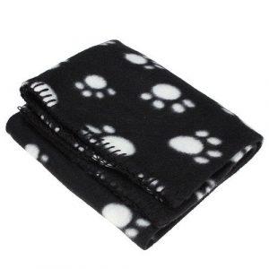 Bravehope Imprimé Animal Couverture Couverture de Chien * 1pièce Taille Unique Noir