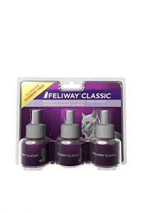 CEVA Feliway Classic Pack de 3 Recharges Décontractant pour Chat 48 ML