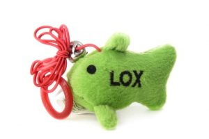 Copa œil Chewish Treat Poisson jouet pour chat en peluche avec ficelle, 5par 3,8cm, Vert