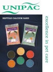 D PAC Ltd (unipac) Sable de calcium pour reptile