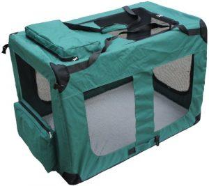 D&S Boîte de transport pour chien 122x79x79cm