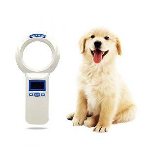ETbotu pour Animal Domestique l'Identification Handheld Lecteur de Carte Barcode Idfdx-b Tube de Verre Label Puce Scanner