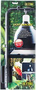 Exo terra Support d'Éclairage Light Bracket pour Reptiles et Amphibiens