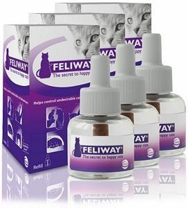 Feliway SPRAY Recharge, 144 ml, Lot de 3 (144ml x2)
