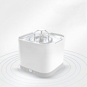 gaozhonghua Fontaine à Boire Pour Animaux De Compagnie Fontaine à Boire Pour Chat Cycle Automatique Smart Détection De Radar Universel,White-A-18*18*15.5CM