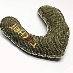 Hilai Boomerang de Chien, Animal familier Fetch Jouet, 1 * Vert