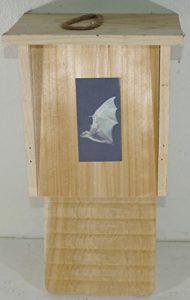 Maisonnette pour chauve-souris en bois