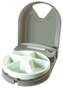 PetSafe – Distributeur de Nourriture et Croquettes Automatique Eatwell 5 Repas pour Animaux – Programmable – Ecran LCD – Sans BPA