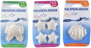 American Paws Pet Products Nos 3Jour, 7Jour et 14Jour Vacation Feeder Block Combo Bundle Flux d'Ensemble de votre animal Poisson Tandis que vous êtes Absent.