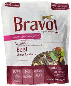 Bravo!. Complete Freeze-Dried Dog d'ameublement Dîners, 6 LB.