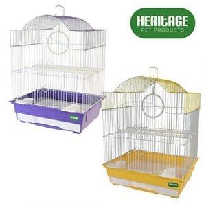 Cage pour petis oiseaux Heritage 3012, Lulworth – Pour perruche, pinson, canari – 36 x 29 x 46 cm