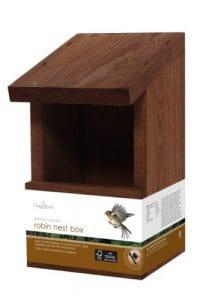 Chapelwood Nichoir pour oiseaux sauvages/rouges-gorges
