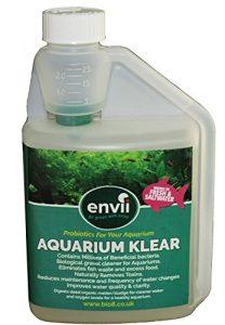 Envii Aquarium Klear – Traitement Bactériologique Anti-Algue Pour Aquarium Qui Nettoie L'eau et Les Graviers et Fait Disparaître Les Algues Vertes – 500ml