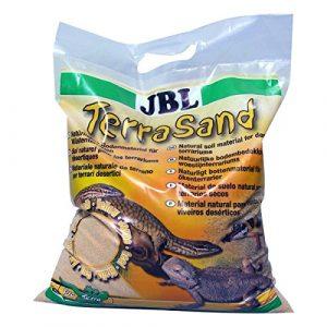 JBL TerraSand Natur Jaune 5l, Substrat de sol pour terrariums désertiques