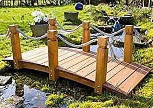 Le summum pour votre jardin – Le pont avec main courant