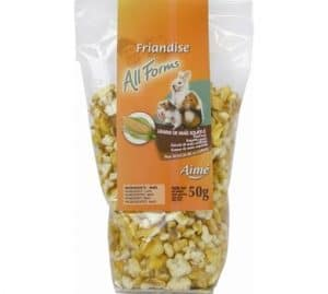Aimé Snack pour Tous Rongeurs Grains Mais Souffles 50 g