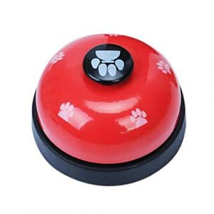 Alian pour Animal Domestique Bell de Dressage de Chien Fournitures Vocal Empreintes Pattes Cloches de Dressage de Chien Chat Jouets pour Chien pour Animal Domestique d'entraînement Cloches