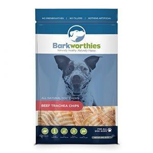 Barkworthies Trachée Chips en Sac pour Animaux domestiques