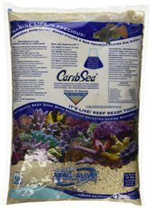 Carib Mer Acs01794Aragamax Alive West Caraïbes Sable pour aquarium, 4,5kilogram, 4par Coque