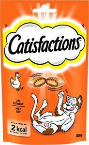 Catisfactions Au Poulet Friandises pour Chats Sachet DE 60 g