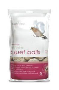 Chapelwood Small Bird Suet Balls (Pack of 6)