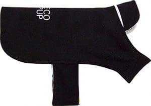 Eco-Pup style classique Soft Shell Veste imperméable, grande, Noir, Coque