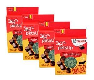 Friandises pour Chien Pet S UP–entraînement du chien–Oie–KLEINE Happen–Pack de 4