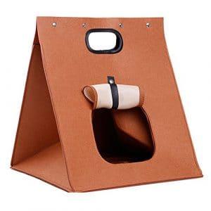 Horing Portable de transport pour animal Chiot Sac multifonction Chien Chat Maison pliable Creative Grotte Chenils