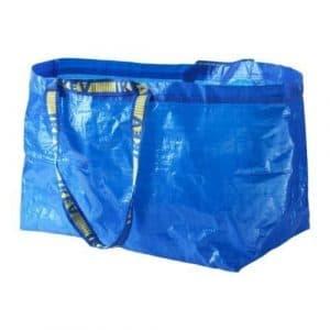 Ikea–5x Frakta Bleu grands sacs–Idéal pour les courses, à linge et de stockage 10-Pack bleu