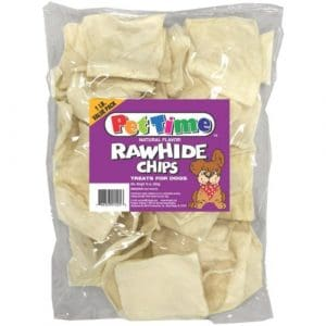 IMS Chips Plain Bag Natural flavor Rawhide Chips Reward Dogs Treat Healthy 1#