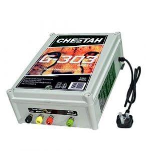 300Acre Électrificateur de clôture électrique–Cheetah G303, 33Joules de sortie, 2ans de garantie