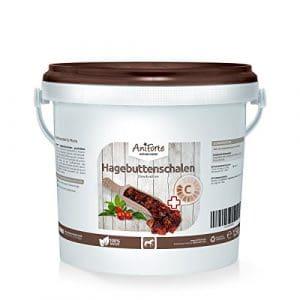 AniForte – Zestes d'églantine – 1,5kg–Découpés – Produit Naturel – Pour chevaux – Cynorrhodon – Vitamine C