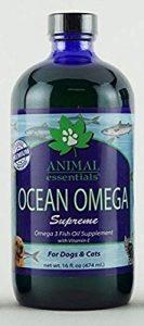 Animal Essentials Ocean Omega Supreme Fish Oil Supplement for Pet Dogs Cat 16z