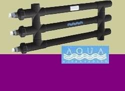 AQUA ULTRAVIOLET Classic 120W Unit, 5,1cm, Noir, 3/l A00123