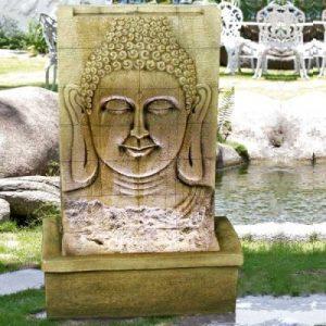 Bouddha sur un mur