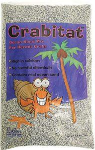 Caribsea Natation Scs00603Crabitat Ermite Crabe Sable, 1kilogram, Noir