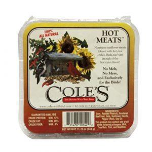 COLES WILD BIRD PRODUCTS INC Coles Oiseaux Sauvages Products Inc 751478101422Coles Oiseaux Sauvages Products Hmsu 333,1Gram Hot viandes Suet-Quantity 12
