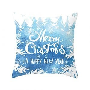 fanfr Merry Christmas Series Cotton Pillow – A2 Oreiller