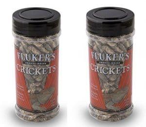 Flukers DE 34Gram Lyophilisés criquets, 2 Pack