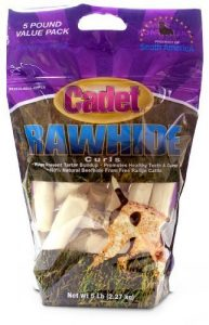 IMS Cadet Rawhide Curl Treat for Dogs, 5-Pound by IMS