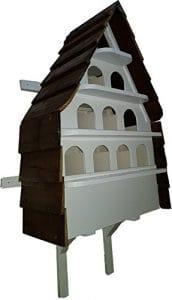 Keiths cottage Colombier (Édifice) Grande 10Trous Maison d'oiseau Fait Main aux Vallées du Pays de Galles