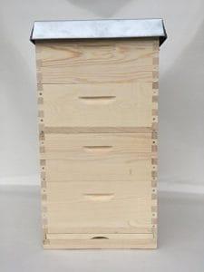 Apisfarm Langstroth 2/3, butin, butin d'abeille, abeilles Boîte avec œillets 40rähmchen, gedrahtet, BEDARF apicoles