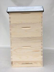 Apisfarm Langstroth, butin, butin d'abeille, abeilles Jardinière avec 30rähmchen, gedrahtet-geöst, BEDARF apicoles
