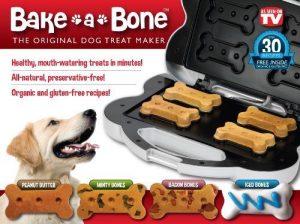 Bake-A-Bone The Original Dog Treat Maker by E. Mishan & Sons – Pet Products (English Manual)