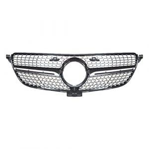 baodiparts ABS Car Front Centre pare-chocs Grille Grill Cadre Cover versions 1 paquet